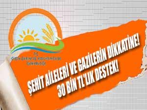 Şehit Aileleri ve Gazilerin dikkatine! 30 Bin TL'lık destek!