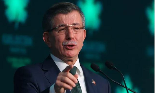 Ahmet Davutoğlu: Emevi Camii'nde Cuma Namazı kılacağız sözlerini ben söylemedim