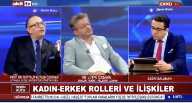 Akit Tv'de Prof. Prof. Muttalip Kutluk Özgüven'in sözleri infial yarattı