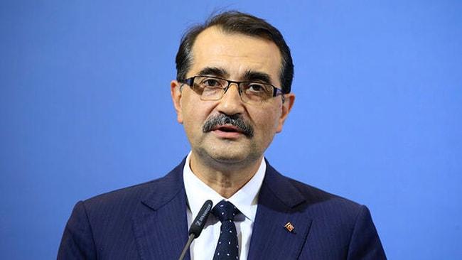 Enerji ve Tabii Kaynaklar Bakanı Dönmez'den