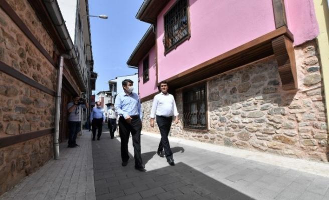 Eski Bursa yeniden canlandı