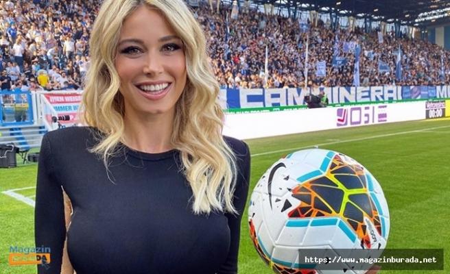 Futbolun Ateşi Dileta Leotta'yı Aşka Getirdi!