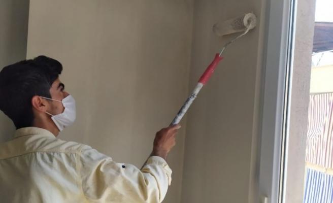 Normalleşme süreci ile birlikte evlerde boya badana telaşı başladı