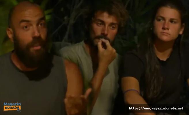 Survivor'da İpler Gerildi: Nisa ve Sercan Eski Defterleri Açtı