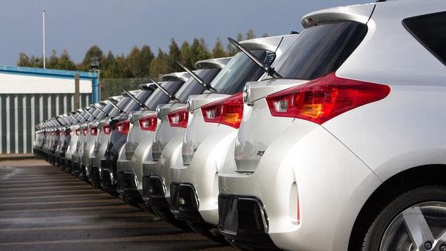 Trafiğe çıkan araç sayısı yüzde arttı