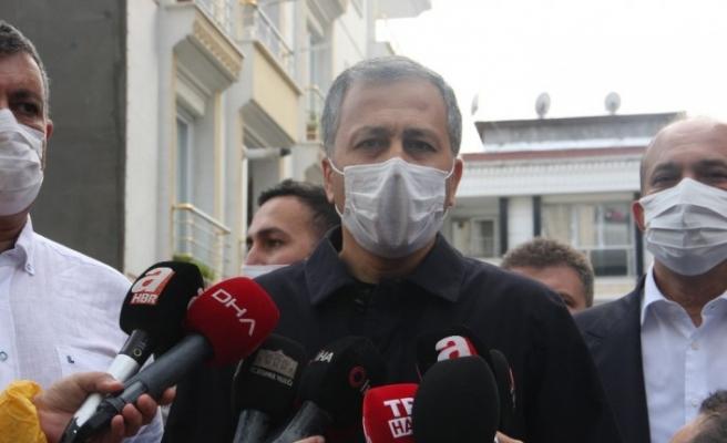 """Vali Yerlikaya: """"Bir Suriyeli misafirimiz hayatını kaybetti"""""""