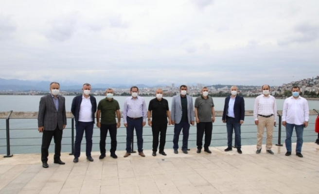 AK Partili büyükşehir belediye başkanları Ordu'da