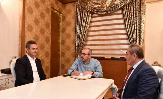 """AK Parti'li Ünal: """"Ayasofya Türk'ün kızıl elmalarından birisidir"""""""