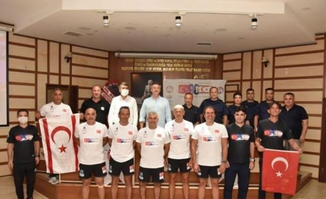 """""""Amacımız Kıbrıs'ı uluslararası spor arenasında duyurmak"""""""