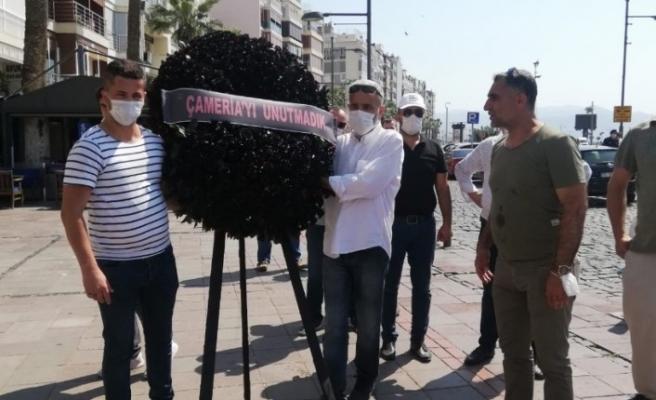 """Arnavut tarihinin en kara günü """"Çameria Katliamı"""" İzmir'de anıldı"""