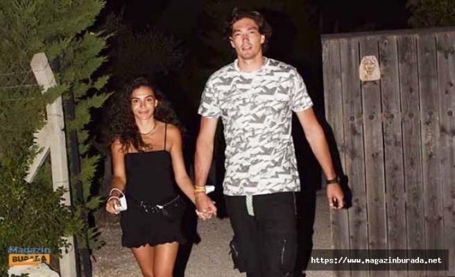 Aşkını İnkar Etmişti! Ebru Şahin ile Cedi Osman Dudak Dudağa Yakalandı