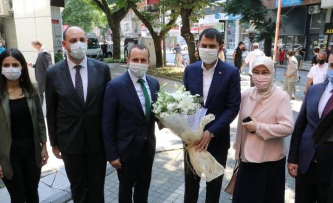 """Bakan Kurum: """"Yalova merkezinde kentsel dönüşüm çalışmasına başlayacağız"""""""