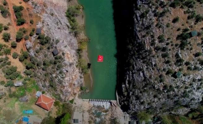 Bir doğa harikası İncesu kanyonu