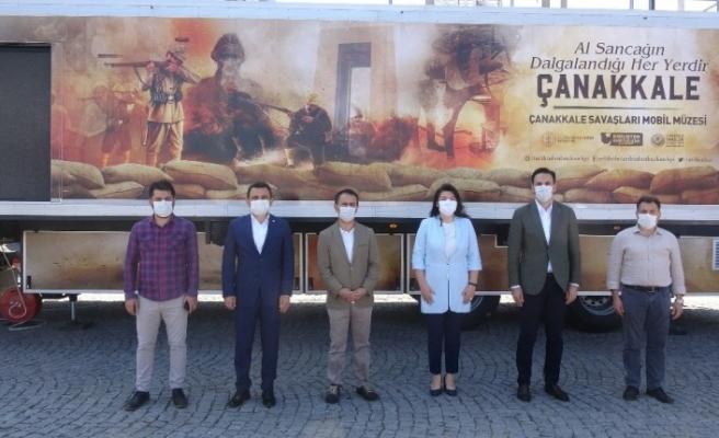Çanakkale Savaşları Mobil Müzesi 81 il gezecek