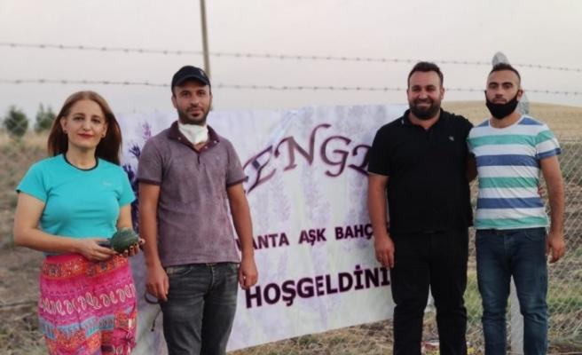 Diyarbakır'da 'Lavanta Aşk Bahçesi' açıldı