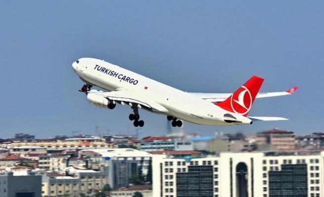 Dünyada taşınan her 20 hava kargodan 1'i Turkish Cargo ile yükseliyor