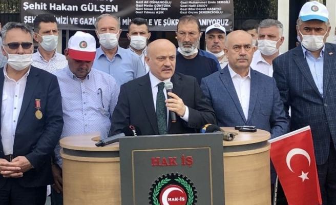 """HAK-İŞ Genel Başkanvekili Öz: """"Milletimiz, ülkemizin makus talihi olan darbelerin kaderini değiştirdi"""""""