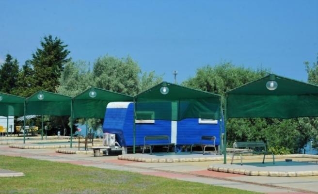 Huzurlu tatilin adresi:  Samsun Karavan Parkı