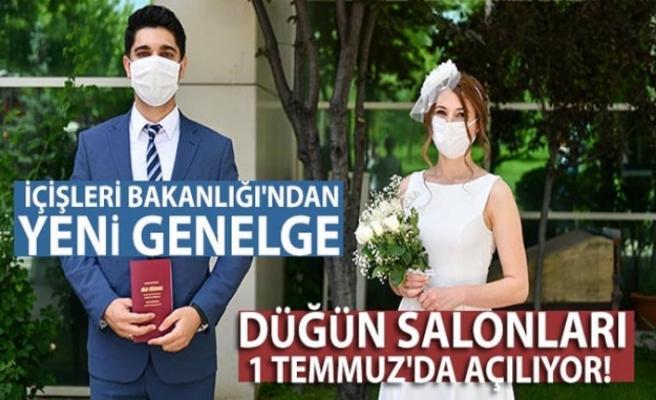 """İçişleri Bakanlığı 81 il valiliğine """"Düğün Törenlerinde Uygulanacak Tedbirler"""" konulu genelge gönderdi"""