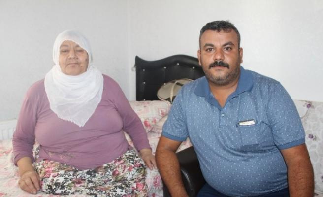 İki bacağı kesilen eş,  Arabistan'da hayatını kaybeden kocasının cenazesini getirilmesini istiyor