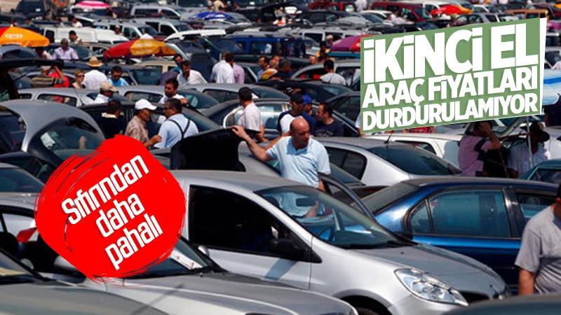 İkinci el araç fiyatları durdurulamıyor! Sıfırından daha pahalı