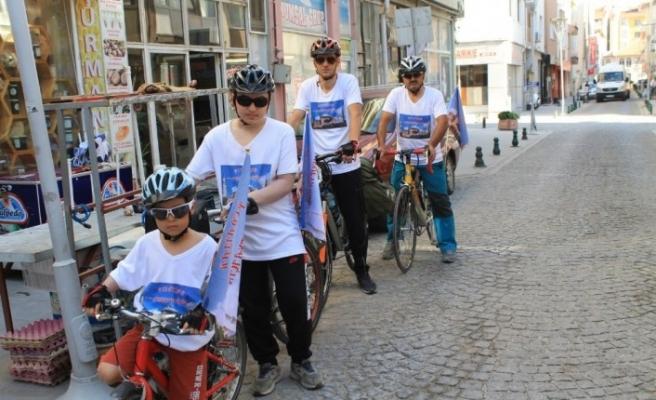 İlk cuma namazı için Eskişehir'den Ayasofya'ya bisikletle yolculuk
