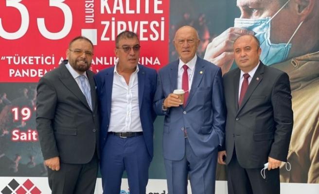 """İş adamı Şahin Kırbıyık'a """"Başarılı Girişimci"""" ödülü"""