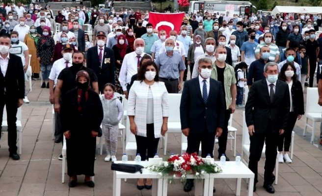 """Karabük'te """"15 Temmuz Demokrasi ve Milli Birlik Günü"""" etkinlikleri"""