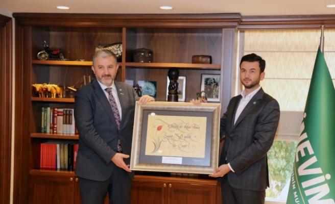MÜSİAD Başkanı Kaan'dan Eminevim'e ziyaret