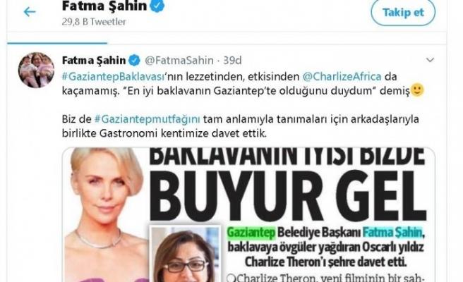 Oscarlı yıldız paylaştı, Fatma Şahin davet etti