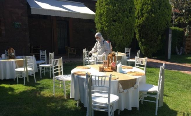 (Özel) Düğün salonları yeni normale hazır