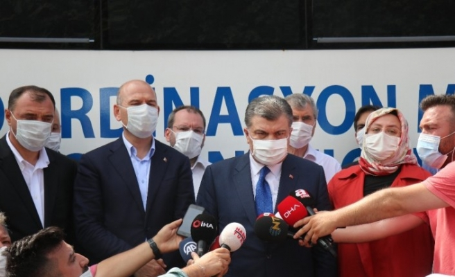 """Sağlık Bakanı Fahrettin Koca: """"4 ölü, 45 kayıp 97 yaralı var"""""""