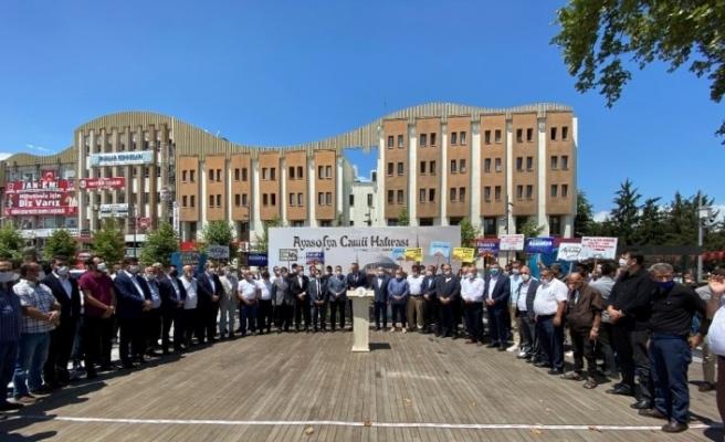 Sakarya AK Parti teşkilatından Ayasofya Camii açıklaması