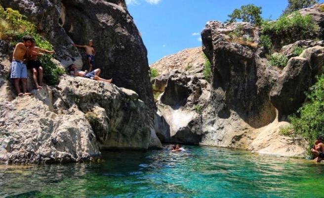 Saklı Cennet 'Aynkebir' bölge halkının vazgeçilmezi haline geldi
