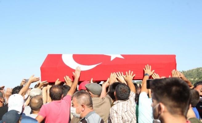 Şehit Jandarma Uzman Çavuş Konukcu son yolculuğuna uğurlandı