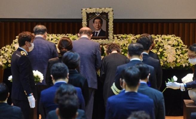 Seul Belediye Başkanı Park Won-soon için cenaze töreni yapıldı