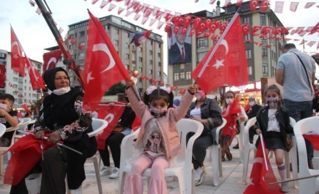 Sivas'ta 15 Temmuz Milli Birlik ve Demokrasi Günü programı