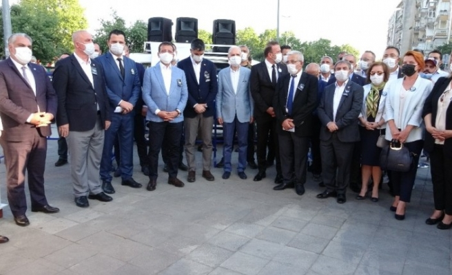 Srebrenitsa katliamında hayatını kaybedenler Kartal'da anıldı