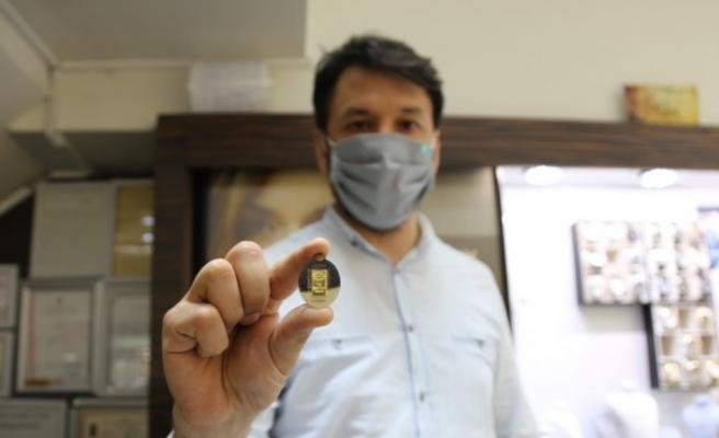 Takı takmak isteyenlerin yeni gözdesi yarım gram altın