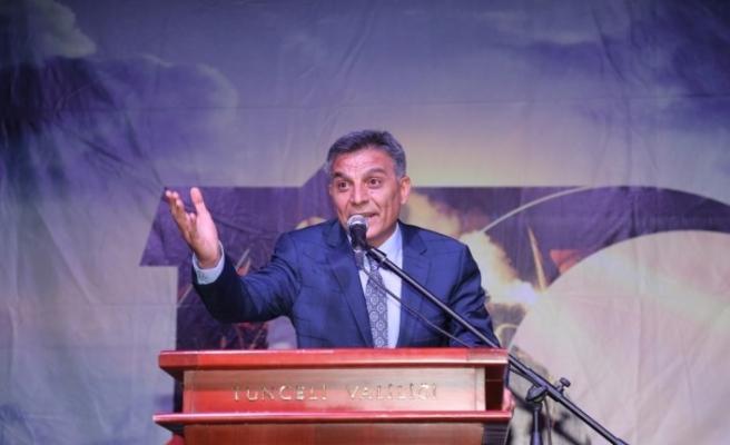 """Tunceli'de """"15 Temmuz Demokrasi ve Milli Birlik Günü"""" programı"""