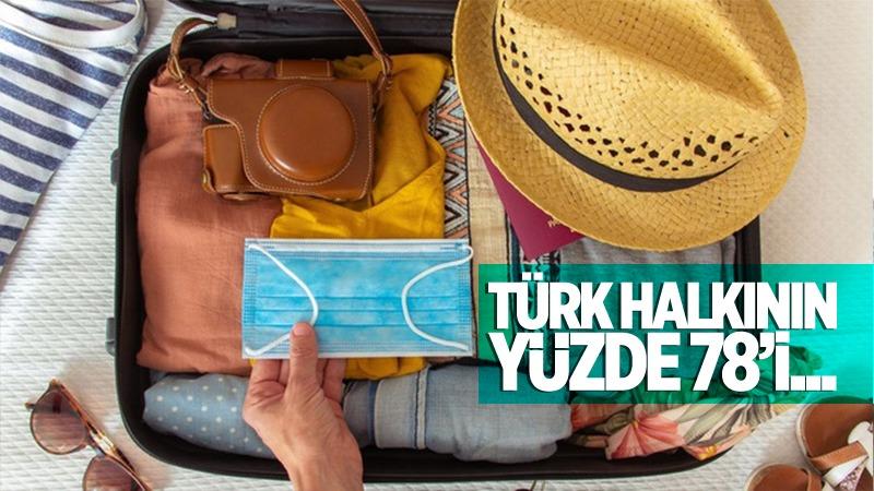 Türk halkının yüzde 78'i...