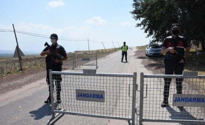 400 kişilik mahalle karantina altına alındı
