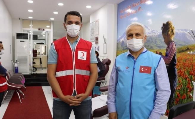 Ağrı İl Müftülüğünden Kızılay'ın kan bağışına destek