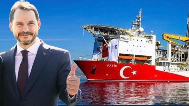 Bakan Albayrak, Fatih Sondaj Gemisi'nde konuştu: 'Cari açığı değil, cari fazlayı konuşacağız'