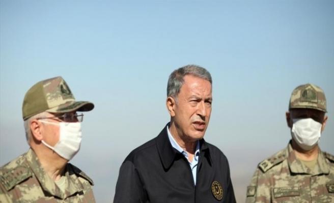 Bakan Akar'dan Irak sınır hattında önemli açıklamalar