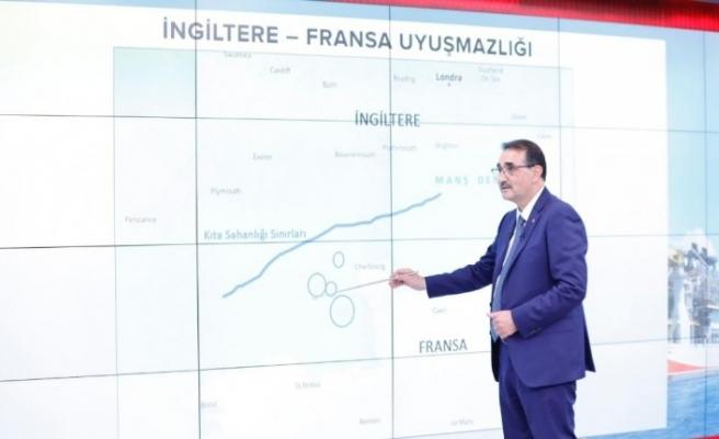 Bakan Dönmez, Karadeniz'deki gaz keşfinin sürecini değerlendirdi