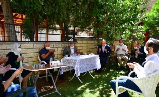 Bakan Gül, Duygu Delen'in ailesi ile görüştü