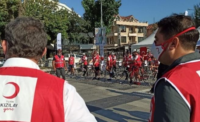 Bisikletçiler deprem farkındalığı için 150 kilometre pedal çevirecek