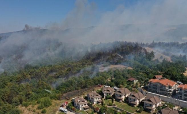 Bursa'daki yangınla ilgili Nilüfer Belediyesi seferber oldu