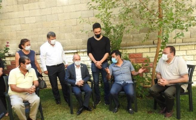 CHP heyeti, Delen ailesini ziyaret etti